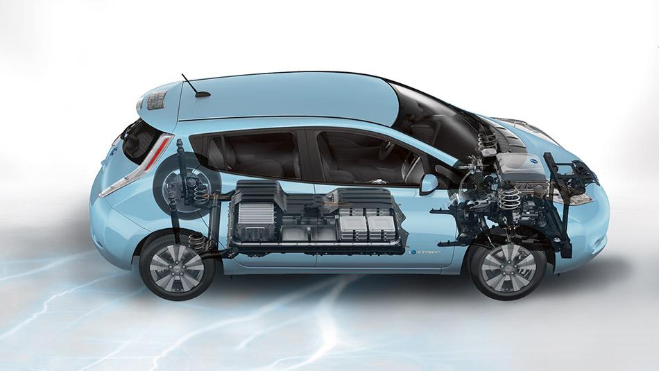 2015 Nissan LEAF cutaway